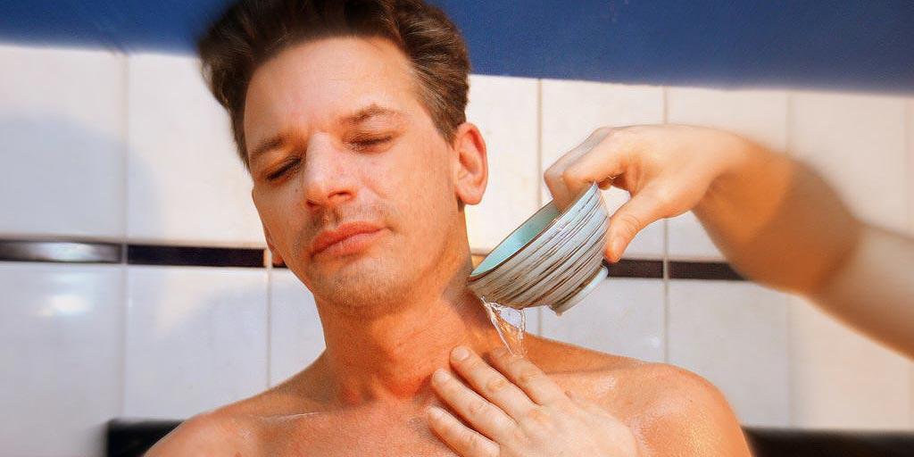 Dusch- und Baderituale